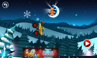 Monster Truck: Winter Racing скриншот 4
