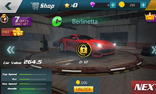 Drift Сar Сity Traffic Racer скриншот 4