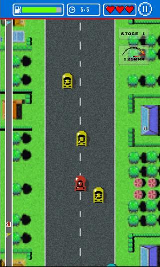 Road Fighter скриншот 1
