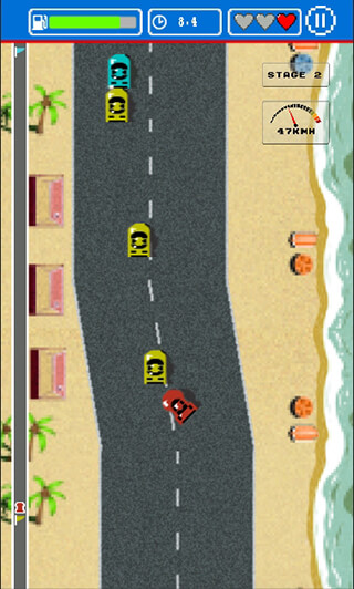 Road Fighter скриншот 2