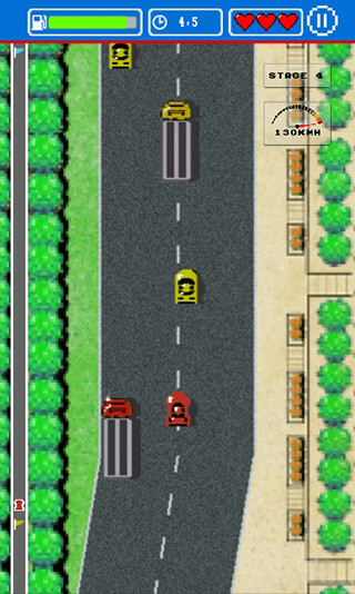 Road Fighter скриншот 4