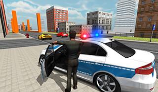 Police Car Driver скриншот 1