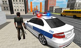 Police Car Driver скриншот 2
