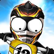 Stickman Downhill: Motocross иконка