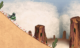 Stickman Downhill: Motocross скриншот 4