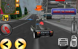 Crazy Driver: Police Duty 3D скриншот 1