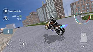Motorbike Driving Simulator 3D скриншот 1
