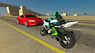 Motorbike Driving Simulator 3D скриншот 2