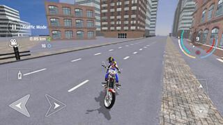 Motorbike Driving Simulator 3D скриншот 4