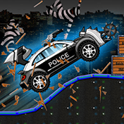 Smash Police Car: Outlaw Run иконка