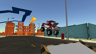 Cartoon Race Car скриншот 1