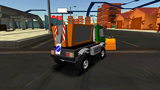 Cartoon Race Car скриншот 3