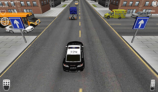 Police Car Racer скриншот 2