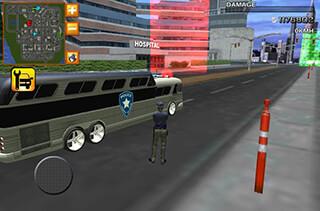 Police Bus Prison Transport 3D скриншот 4