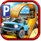 3D Monster Truck: Parking Game иконка