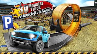 3D Monster Truck: Parking Game скриншот 1