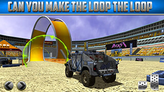 3D Monster Truck: Parking Game скриншот 2