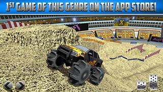 3D Monster Truck: Parking Game скриншот 3