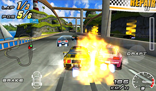 Raging Thunder 2 Free скриншот 3