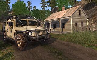 4x4 SUVs in the Backwoods скриншот 3