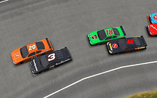 Thunder Stock Cars скриншот 1