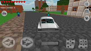 Blocky Town Craft: Survival скриншот 2