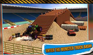 4x4 Monster Truck: Stunts 3D скриншот 1