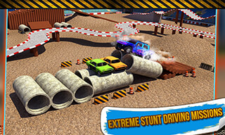 4x4 Monster Truck: Stunts 3D скриншот 2