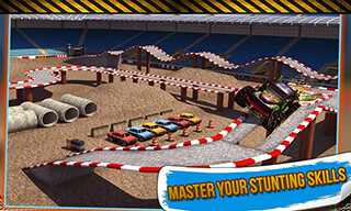 4x4 Monster Truck: Stunts 3D скриншот 4