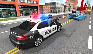 Police Car Racer 3D скриншот 1