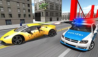 Police Car Racer 3D скриншот 2
