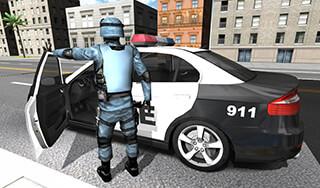 Police Car Racer 3D скриншот 3