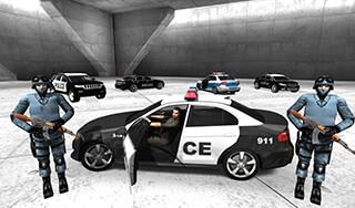 Police Car Racer 3D скриншот 4