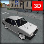 Водила 3D: Прокачай девятку иконка