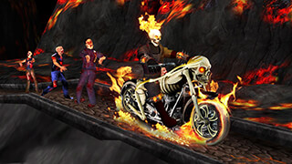 Ghost Ride 3D скриншот 1