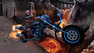Ghost Ride 3D скриншот 3