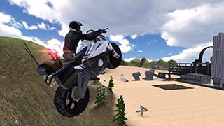 Police Bike: Traffic Rider скриншот 2