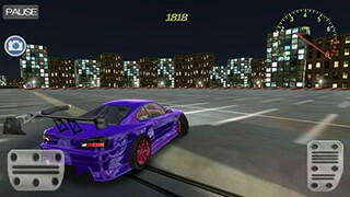 JDM: Drift Night Simulator скриншот 2