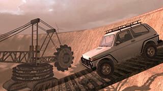 4x4 Russian SUVs Off-Road 3 скриншот 4