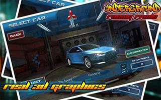 Underground Racing: Rivals скриншот 2