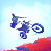 Psebay: Gravity Moto Trials иконка