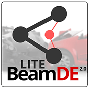 Beam DE 2.1: Car Crash Free иконка