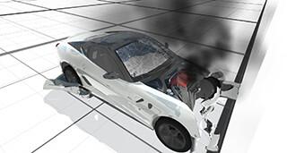 Beam DE 2.1: Car Crash Free скриншот 1