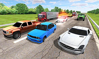 Speed Traffic Racer скриншот 1