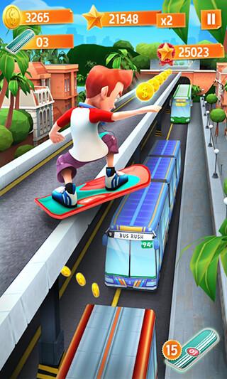 Bus Rush скриншот 1