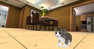 Kitten Cat Simulator 3D Craft скриншот 1