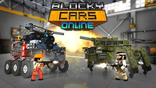 Blocky Cars Online скриншот 1