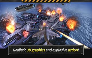 Gunship Battle: Helicopter 3D скриншот 3