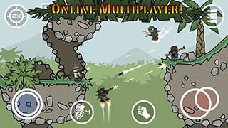 Doodle Army 2: Mini Militia скриншот 1