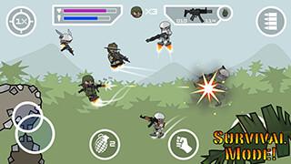 Doodle Army 2: Mini Militia скриншот 2